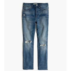 Madewell the high rise slim boy jean size 25